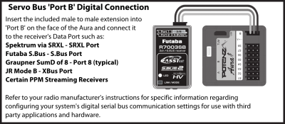 Aura/General Connections and Power - Flex Innovations Wiki